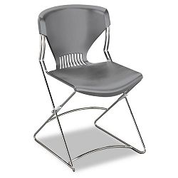 Olson Flex Stacker Chair Silver Gray 4Carton (HONFLEX0116)