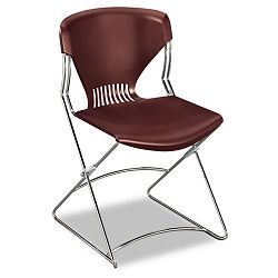 Olson Flex Stacker Chair Garnet 4Carton (HONFLEX0165)