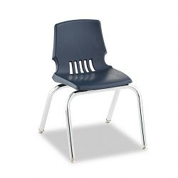 "Proficiency Student Shell Chair 14"" Seat Height Navy Shell 4Carton (HONH101491Y)"