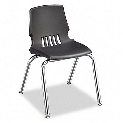 "Proficiency Student Shell Chair 16"" Seat Height Lava Shell 4Carton (HONH101611Y)"