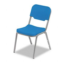 Rough N Ready Original Stack Chair Resin Blue 4Carton (ICE64016)