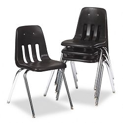 9000 Series Classroom Chair BlackChrome Frame 4Carton (VIR90879C59)