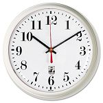 SelfSet Wall Clock 9-14in White (ILC67102602)
