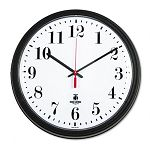 Black Quartz Contract Clock 13-34in Black (ILC67700002)