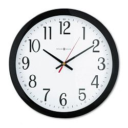 Gallery Wall Clock 16in Black (MIL625166)