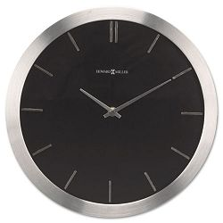 Stanton Wall Clock 11-34in Brushed Nickel (MIL625486)
