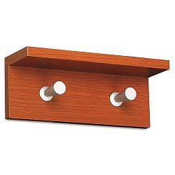 Wood Wall Rack 2 Hook Cherry (SAF4220CY)