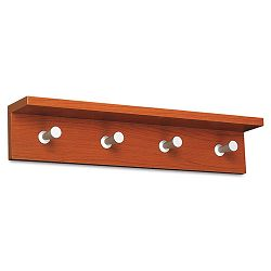 Wood Wall Rack 4 Hook Cherry (SAF4221CY)