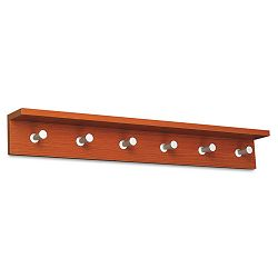 Wood Wall Rack 6 Hook Cherry (SAF4222CY)