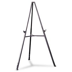 "Triumph Display Easel Adjust 36"" to 62"" High Gray (GHE19250)"