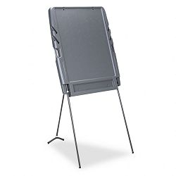 Portable Flipchart Easel Resin 35w x 30d x 73h Charcoal (ICE30127)