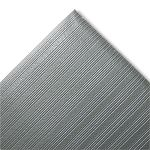 Ribbed Antifatigue Mat Vinyl 27 x 36 Gray (CWNFJS736GY)