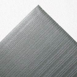 Ribbed Antifatigue Mat Vinyl 36 x 60 Gray (CWNFL3660GY)