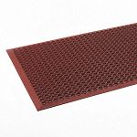 Safewalk-Light Heavy-Duty Antifatigue Mat Rubber 36 x 60 Terra Cotta (CWNWSCT35TC)