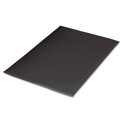 Air Step Antifatigue Mat Polypropylene 24 x 36 Black (MLL24020302)