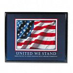 """United We Stand"" Framed Motivational Print 30 x 24 (AVT78036)"