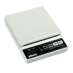 Straight Weigh Electronic Postal Scale 10lb Capacity 5-78 x 5-78 Platform (PELPE10)