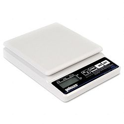 Straight Weigh Electronic Postal Scale 5lb Capacity 5-78 x 5-78 Platform (PELPE5)