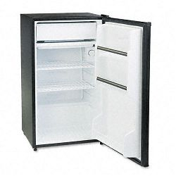 Counter Height 3.6 Cu. Ft. RefrigeratorFreezer Black (SNFSR3620K)