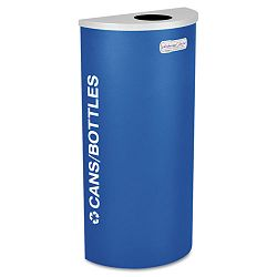 Kaleidoscope Collection Recycling Receptacle 8 gal Royal Blue (EXCRCKDHRCRYX)