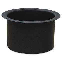 "Fire-Safe Recycling Receptacle Planter Kit 9-14"" Diameter Black (EXCRCMTRPLTR)"