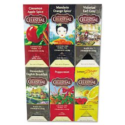 Tea Six Assorted Flavors 25Flavor 150Carton (CST49683)