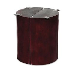 "Verona Veneer Series Column 28-12"" High Mahogany (ALERN713015MM)"