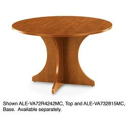 "Valencia Series Round Table Top 42"" Diameter Medium Cherry (ALEVA72R4242MC)"