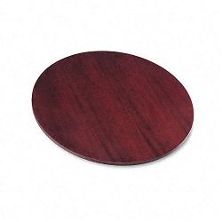 "BW Veneer Series Round Conference Table Top 42"" Diameter Mahogany (BSXBW42NN)"