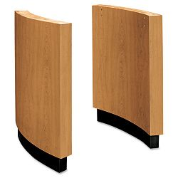 Curved Plinth Laminate Base Kit 30w x 3d x 28h Harvest (BSXOVBASEC)