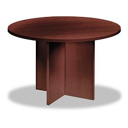 "Round Conference Table Top 42"" Diameter Mahogany (BSXRB42TN)"