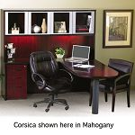 Corsica Conference Series Modular Table Center Leg Mahogany (MLNCMTLMAH)