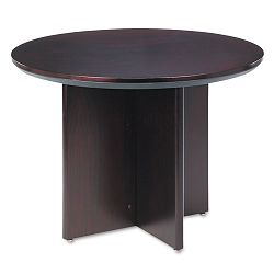 Corsica Conference Series Round Table 42 dia. x 29½h Mahogany (MLNCTRNDMAH)