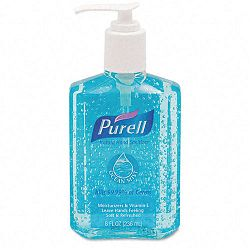 Ocean Mist Instant Hand Sanitizer 8oz. Pump Bottle Blue (GOJ301212CMR)