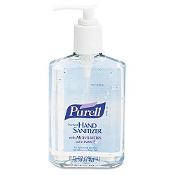 Instant Hand Sanitizer 8-oz. Pump Bottle Case of 12 (GOJ965212CT)