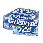 Dentyne Ice Sugarless Gum Peppermint Flavor 12 Pieces per Pack 12 Packs per Box (CDB30020)