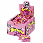 Bubbaloo Bubble Gum wLiquid Center Individually Wrapped Pieces 60 per Box (CDB91627)