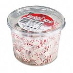 Starlight Mints Peppermint Hard Candy Individually Wrapped 2 Lb. Tub (OFX70019)