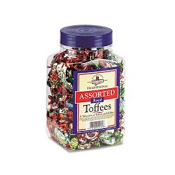 Walker's Assorted Toffee 2.75 Lb. Tub (OFX94054)
