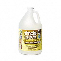 Clean Building Carpet Cleaner Concentrate Unscented 1 Gallon (SPG11201)