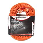 IndoorOutdoor Extension Cord 100 Feet Orange (IVR72200)