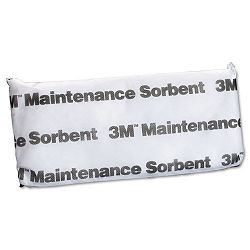Maintenance Sorbent Pillow 12 Gallon Sorbing Volume Each Carton of 16 (MMMMPL715)