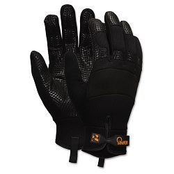 Memphis Multi-Task Synthetic Gloves Large Black 1 Pair (CRW907L)