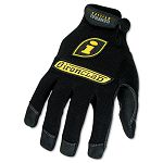 General Utility Spandex Gloves 1 Pair Black Medium (IRNGUG03M)