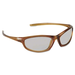 Refine 101 Safety Glasses Wraparound Gray AntiFog Lens Mocha Frame (MMM117390000020)