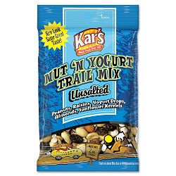 Kar's Nut and Yogurt Trail Mix 2 oz Bag Box of 16 Bags (AVT40647)