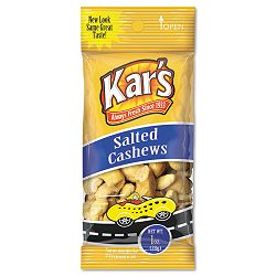 Nuts Caddy Salted Cashews 1 oz Packets Caddy of 30 Packets (AVTSN08380)