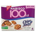 100 Calorie Chips Ahoy Chocolate Chip Cookie Box of 6 Packs (CAH610)