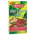 100 Calorie Pack Dark Chocolate Cocoa Roast Almonds .63 oz Packs Box of 7 Packs (DFD84325)