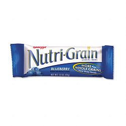 Nutri-Grain Cereal Bars BlueberryIndividually Wrapped 1.3oz Bar Box of 16 Bars (KEB35745)